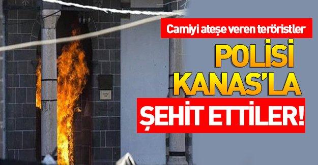 Diyarbakır Sur ilçesinde 1 polis şehit oldu