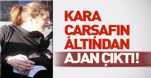 Diyarbakır'da çarşaf giymiş İngiliz kadın yakalandı