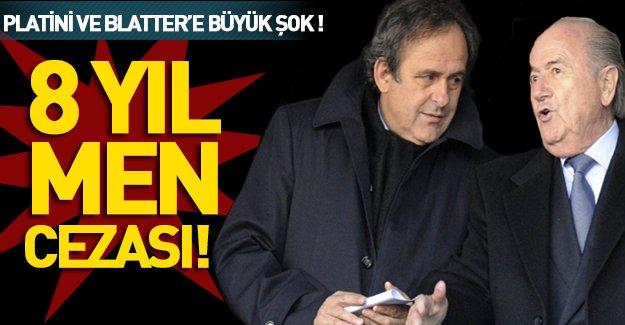 Dünya futbolunda büyük şok! Blatter ve Platini'nin cezası belli oldu!
