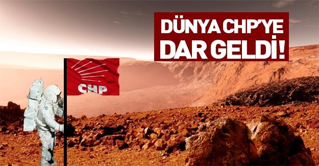 Dünyada iktidar olamayan CHP Mars'ta iktidar olmaya çalışıyor!