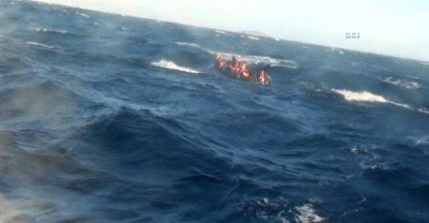 Ege'de bir mülteci faciası daha: 20 ölü !