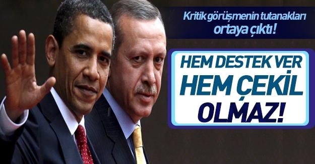 En kritik diyalog! Obama ve Erdoğan bakın ne konuşmuşlar?