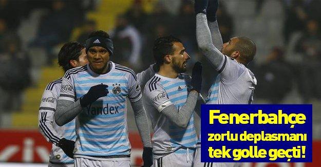 Fenerbahçe: 1 Gençlerbirliği: 0