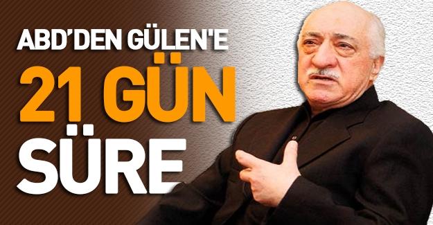 Fethullah Gülen'e Şok! ABD Yargısından Fethullah Gülen'e 21 gün süre verildi!