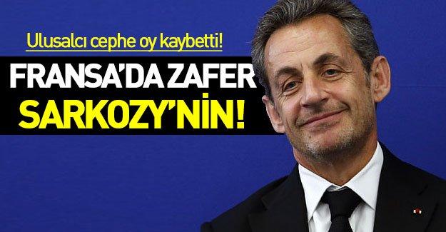 Fransa seçimlerini kazanan Sarkozy oldu