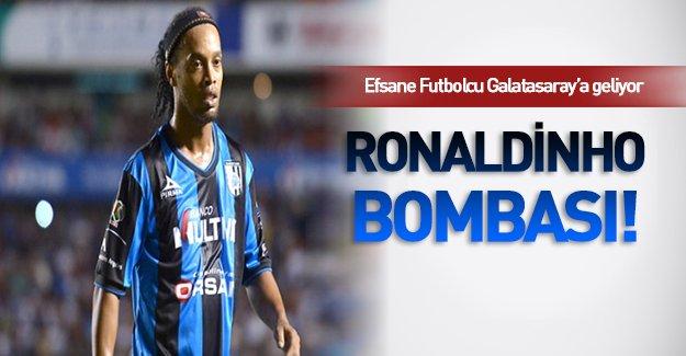 Galatasaray'da Ronaldinho heyecanı!