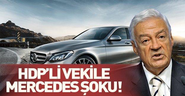 HDP'li vekile Mercedes şoku! Dengir Mir Mehmet Fırat'ın Mercedes'i kaçak mı?