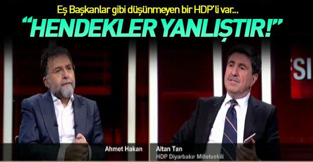HDP Milletvekili Altan Tan'dan PKK'ya Hendek Eleştirisi