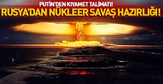 İngiliz gazetesinden şok iddia: Rusya, nükleer savaşa hazırlanıyor