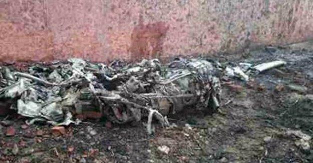 İniş yapan uçak duvara çarptı: 10 ölü