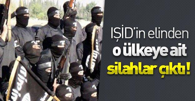 IŞİD'in elinden o ülkeye ait silahlar çıktı!