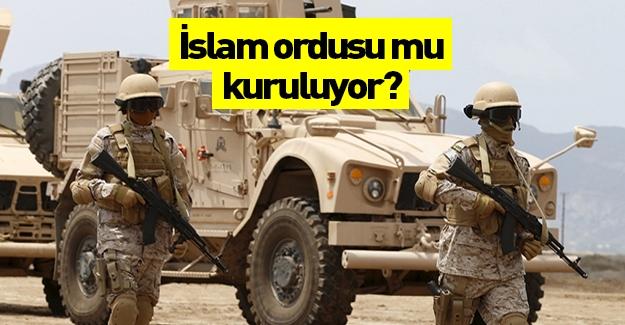 İslam ordusu mu kuruluyor? IŞİD'e karşı ittifak yapılıyor...