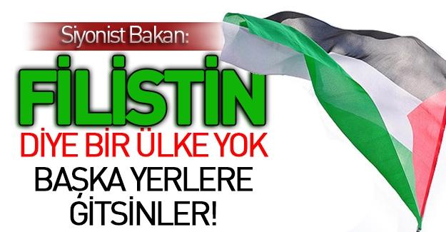 İsrailli Bakan: Filistinliler Başka Ülkelere Gitsin