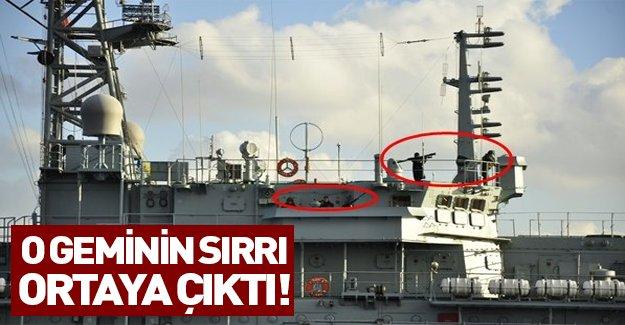 İstanbul boğazından geçen Rus gemisinin sırrı ne?