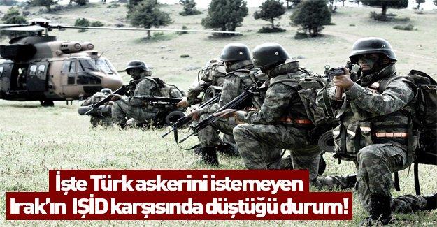 İşte Türk askerini istemeyen Irak'ın IŞİD karşısında düştüğü durum!