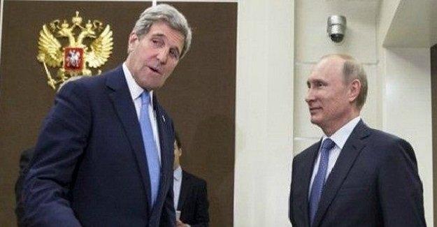 John Kerry'den Rusya'da kritik Türkiye görüşmesi!
