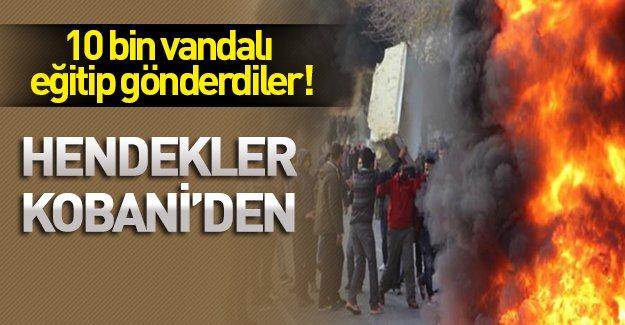 Kobani'de eğitim alan 10 bin HDP'li şehir savaşı başlattı