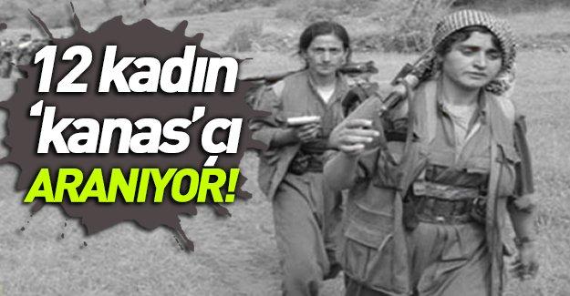 Kobani'de Eğitim Alan 12 Kadın 'Kanas'çı Aranıyor