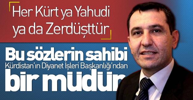 Kürdistan'ın Yahudi İşleri Müdürü'nden şok sözler! ''Her Kürt ya Yahudi ya da Zerdüşttür''