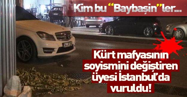 Kürt mafyasının soyismini değiştiren üyesine silahlı saldırı!