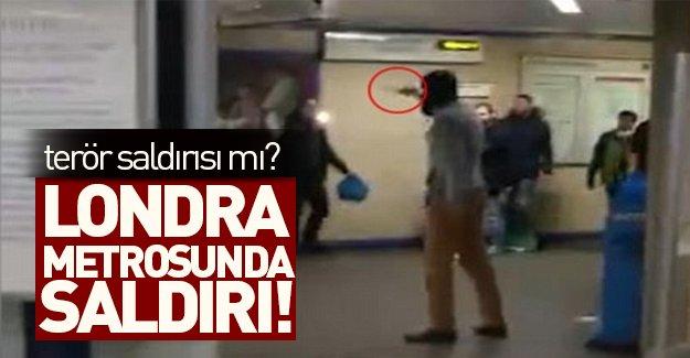 Londra metrosunda saldırı şoku! Terör olayı mı?