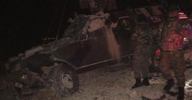 Mardin Nusaybin İpek Yolu'nda askeri araca bombalı saldırı: 6 yaralı