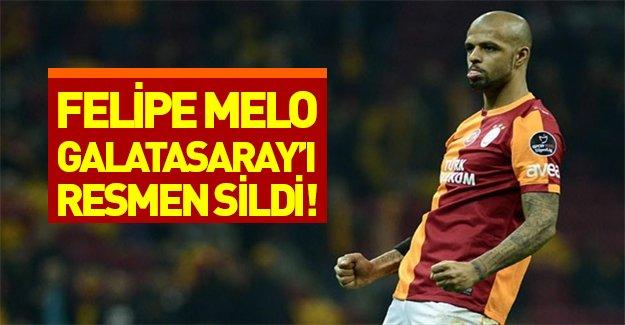 Melo Galatasaray'ı resmen sildi! Sosyal medyada Felipe Melo çalımı