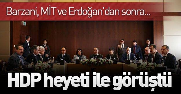 Mesut Barzani'nin Ankara temasları sürüyor! Barzani, HDP heyeti ile bir araya geldi!