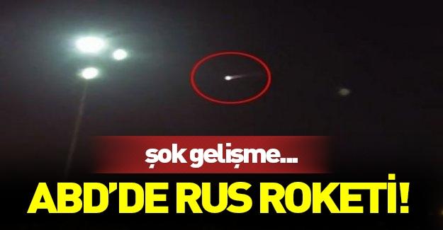 Meteor sanılan cisim Rus roketi mi ?