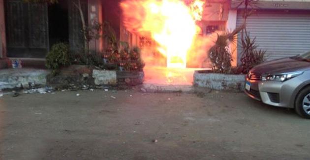 Mısır'da restoranta molotoflu saldırı! 18 ölü