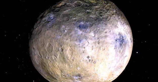 NASA, cüce gezegenlerin en büyüğü Ceres'in yeni görüntülerini yayınladı! İşte o video! TIKLA-İZLE