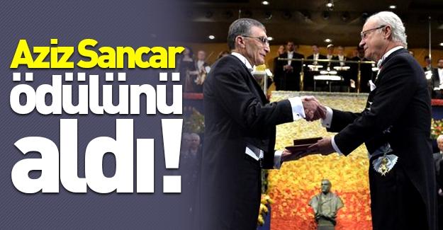 Nobel ödülleri sahiplerini buldu! Aziz Sancar'a ödülü takdim edildi!