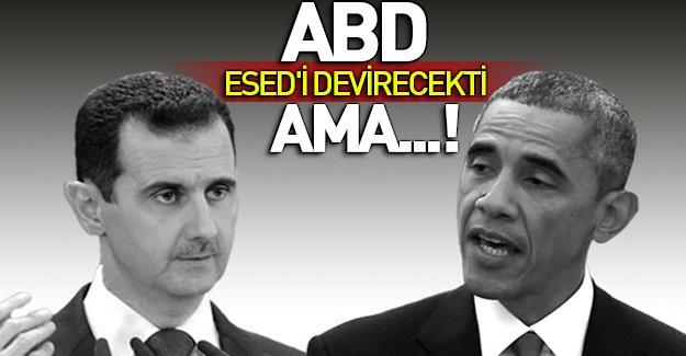 Obama'nın gizli Esed'i devirme planı
