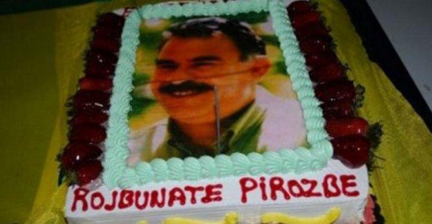 Öcalanlı pastaya 15 yıl hapis