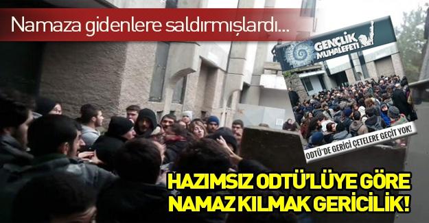 ODTÜ Gençlik Muhalefetinden açıklama: ODTÜ'de gerici çetelere geçit yok!
