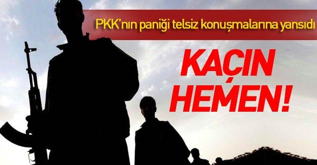 PKK'lı teröristlerin yeni telsiz konuşmaları...