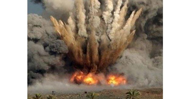 PKK'nın tuzakladığı 150 kilogramlık bomba imha edildi