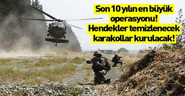 PKK'ya karşı son 10 yılın en büyük operasyonu geliyor!