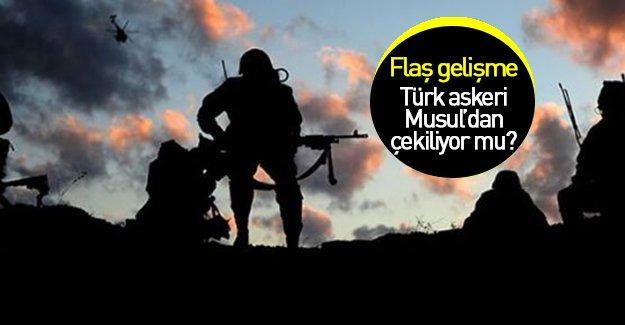 Reuters'tan iddia: Türk askeri Musul'dan çekiliyor