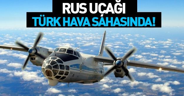 Rus Keşif Uçağı Türk Hava Sahasında