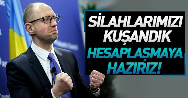 """Rusya, doğalgaz borcunu ödemeyen Ukrayna'yı mahkemeye veriyor, Yatsenyuk: """"Hesaplaşalım"""""""