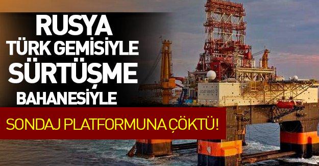 Rusya Türk gemisi krizi gölgesinde 2 petrol sondaj platformunu kaçırmış!