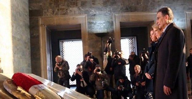 Sancar: ''Atatürk'ün ruhuna fatiha okudum''