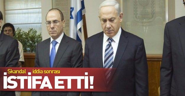 Sapıklıkla suçlanan İsrailli bakan görevinden istifa etti