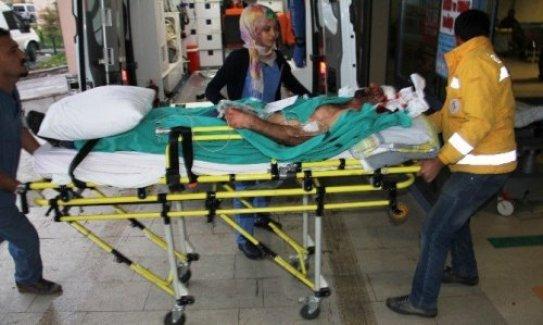 Sınır kapısında silahlı kavga: 17 yaralı