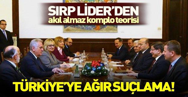 Sırbistan Devlet Başkanı Nikoliç'ten Türkiye'ye akılalmaz suçlama
