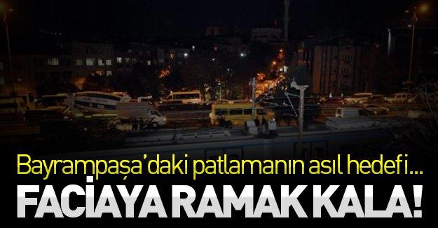 SON DAKİKA: Facianın eşiğinden dönüldü! Bayrampaşa'daki patlamanın asıl hedefi...