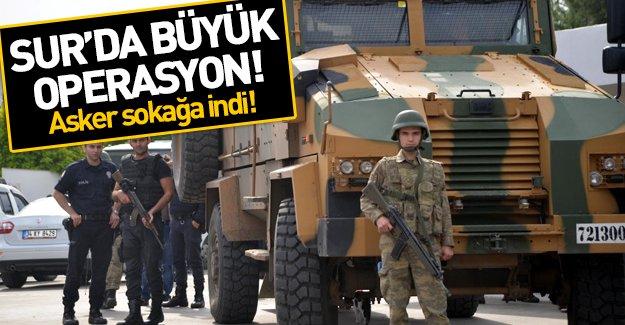 Sur'da çatışmalar şiddetlendi! Polisten sonra asker de sokağa indi!