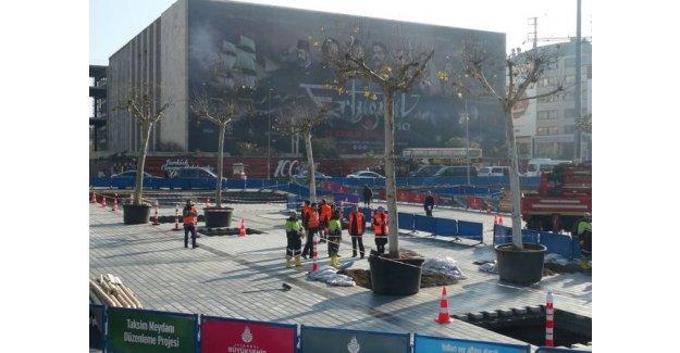 Taksim Meydanı Ağaçlanıyor!