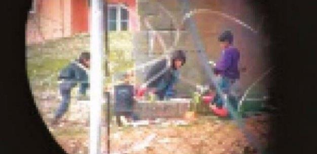Teröre çocuk işçi çalıştırıyorlar!